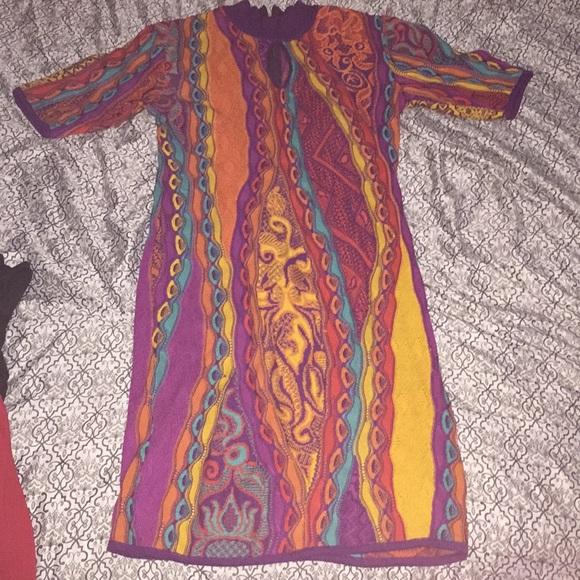 Coogi sweater dress